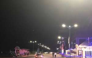 排盲扫危 烟台城管局市政处改造铺设路灯34套三亚